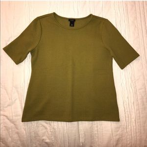 Ann Taylor Olive Top S